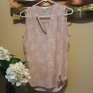V-Neck Style Summer Blouse